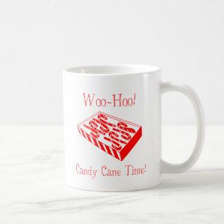 ¡Corteje-Hoo! ¡Tiempo del bastón de caramelo! Taza