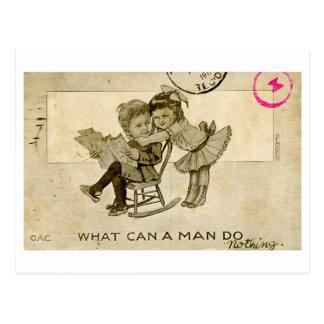 Cortejo Postcard (1911) Tarjeta Postal