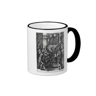Cortes and Montezuma Ringer Coffee Mug
