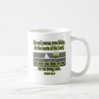 Cortes del señor tazas de café