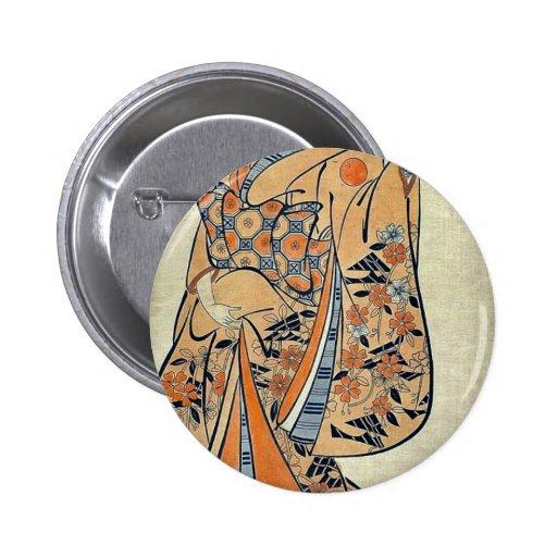 Cortesana comparada al sabio por Okumura, Masanobu Pins