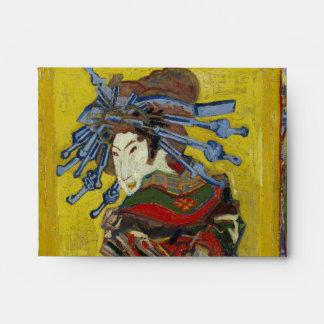 Cortesana de Van Gogh después de Eisen Sobre