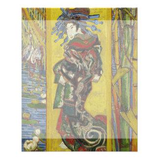 Cortesana después de Eisen de Vincent van Gogh Tarjetas Informativas