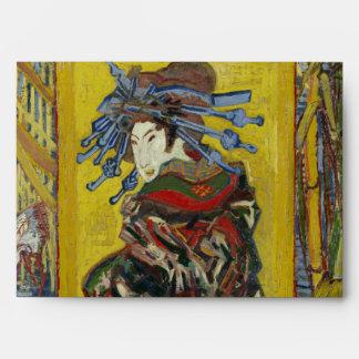 Cortesana (después de Eisen) por Vincent van Gogh