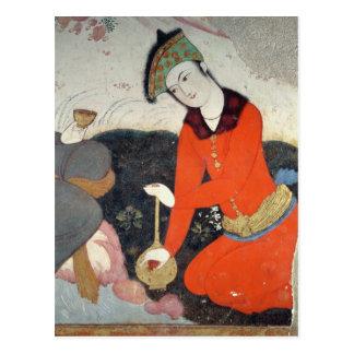 Cortesano en la corte de Shah Abbas I Tarjetas Postales