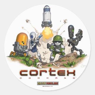 Cortex Command Splash Sticker