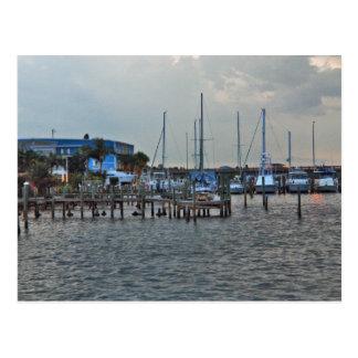 Cortez Bridge to Anna Maria Island Yacht Basin Postcards