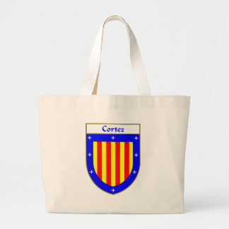 Cortez Coat of Arms/Family Crest Jumbo Tote Bag