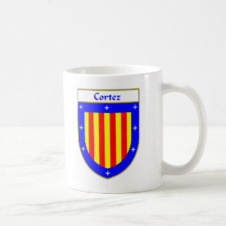 Cortez Coat of Arms/Family Crest Classic White Coffee Mug