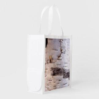 Corteza de abedul bolsas de la compra