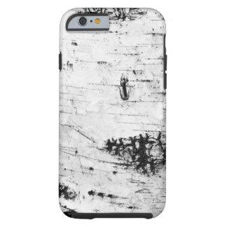 Corteza de abedul funda para iPhone 6 tough