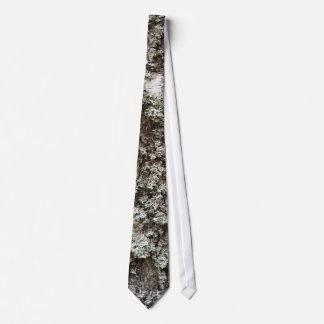 Corteza de abedul resistida corbata personalizada