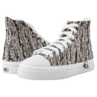 Corteza de árbol áspera zapatillas