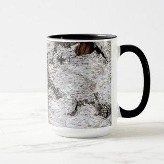 Corteza de árbol de abedul - taza de café