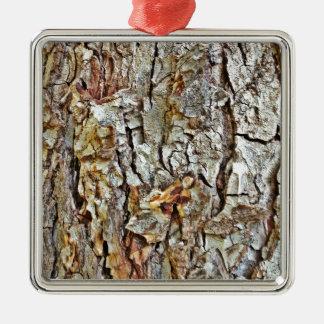 Corteza de árbol de Camo Adornos De Navidad