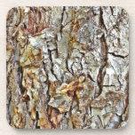 Corteza de árbol de Camo Posavasos De Bebida