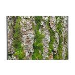 Corteza de árbol de pino con el musgo iPad mini carcasa