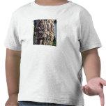Corteza de árbol de Redgum Camisetas
