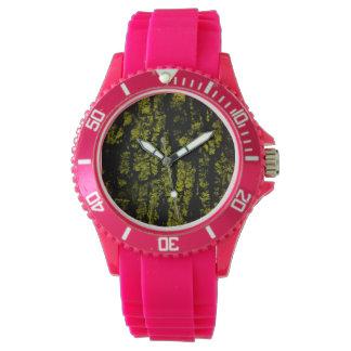 Corteza de árbol, estructura relojes de pulsera