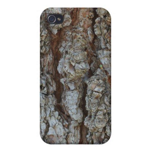 Corteza de árbol - iPhone 4 cárcasas