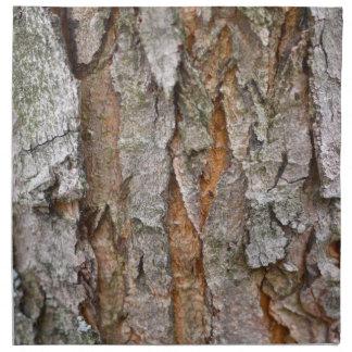 Corteza de árbol, madera, bosque de los árboles servilleta de papel