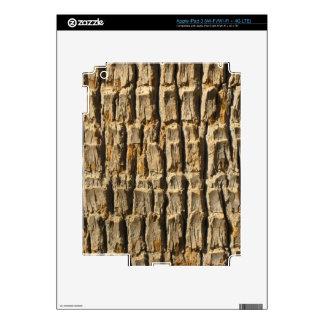 Corteza de árbol naturalmente fresca de iPad 3 skin
