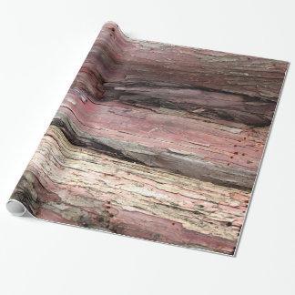 Corteza de árbol papel de regalo