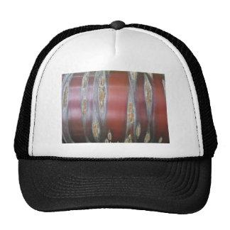 Corteza de árbol roja gorras