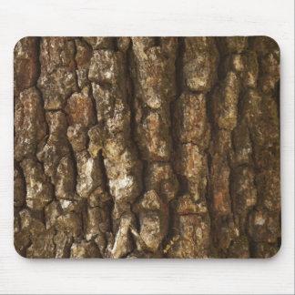 Corteza de árbol alfombrilla de ratón