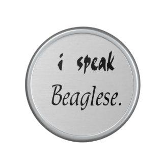 Corteza del beagle - hablo Beaglese Altavoz Bluetooth