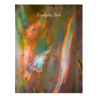 corteza del eucalipto del Impresionista-estilo Postal