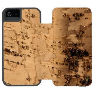 Corteza Funda Billetera Para iPhone 5 Watson