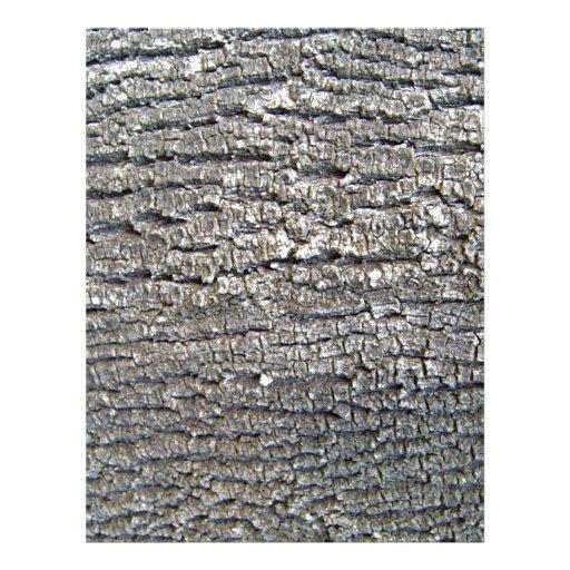 "Corteza horizontal del Grunge Folleto 8.5"" X 11"""