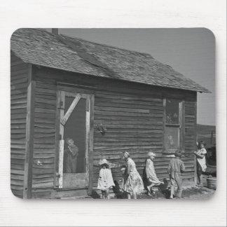 Cortijo de Dakota del Norte, los años 30 Mouse Pads
