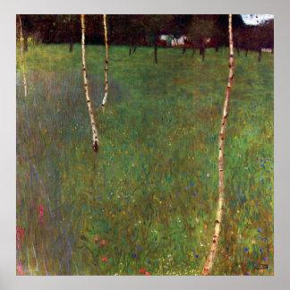 Cortijo de Gustavo Klimt Posters