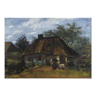 Cortijo en Nuenen de Vincent van Gogh Fotografía