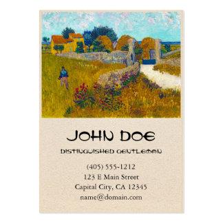 Cortijo en Provence de Vincent van Gogh Tarjetas De Visita Grandes