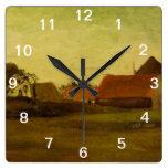 Cortijos en Loosduinen cerca de La Haya… Reloj De Pared