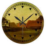 Cortijos en Loosduinen cerca de La Haya… Relojes De Pared