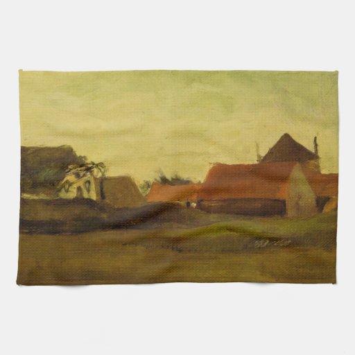 Cortijos en Loosduinen cerca de La Haya… Toallas
