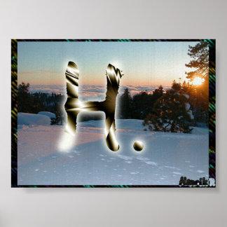 Cortina blanca #5 póster