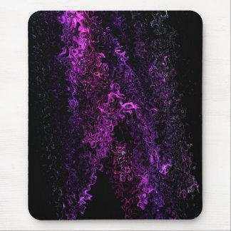 Cortina celestial púrpura contemporánea del arte alfombrilla de ratón