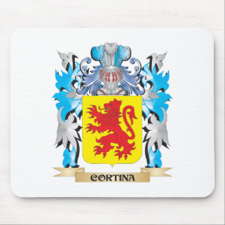 Cortina Coat of Arms - Family Crest Mouse Pad