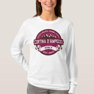 Cortina d'Ampezzo Italy Raspberry T-Shirt