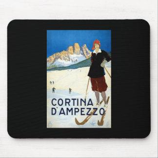 Cortina D'ampezzo Mouse Pad