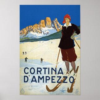 Cortina D'Amprezzo Print