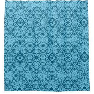 Cortina de ducha de la belleza del azul de océano cortina de baño