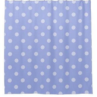 Cortina de ducha púrpura del lunar cortina de baño