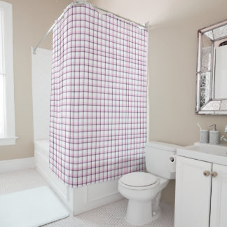 Cortina de ducha púrpura fresca de la tela cortina de baño