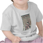 Cortina de la cuerda por Nishimura, Shigenaga Camiseta